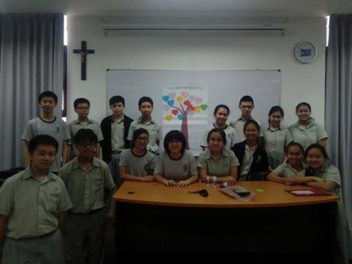 St Jo Club Activity 1